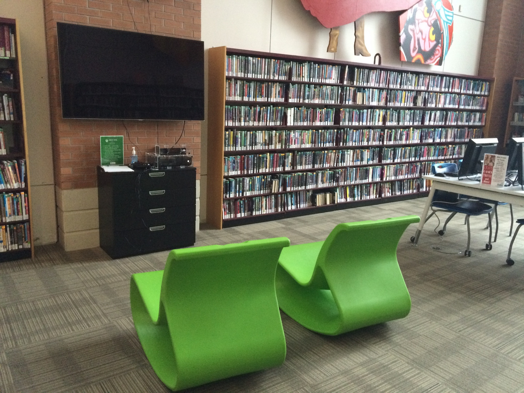 Teen Area Downtown Branch