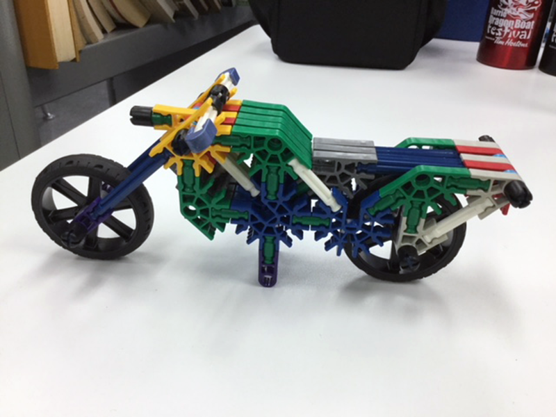 Tinker Lab - K'Nex Motorcycle