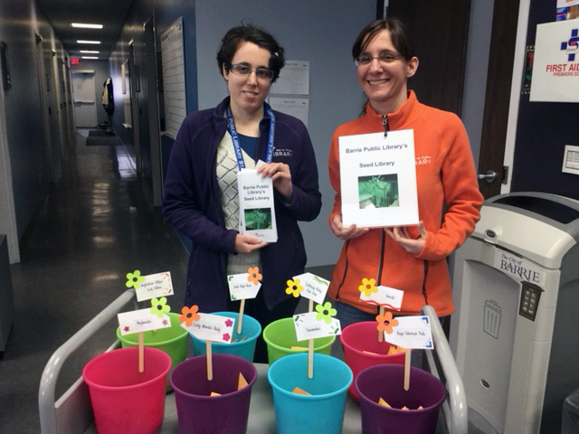 Barrie Seed Library launch
